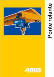 catálogo das pontes rolantes ABUS