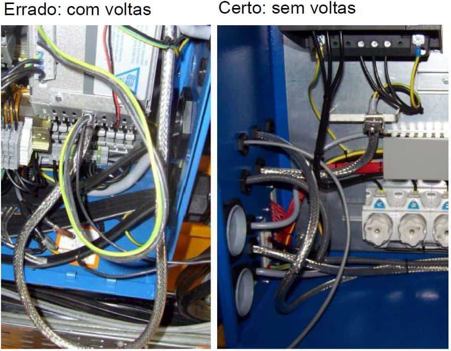 Interferências eletromagnéticas Certo x errado