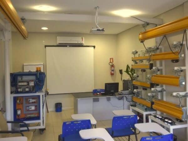 Sala de treinamentos da Ciriex Abus