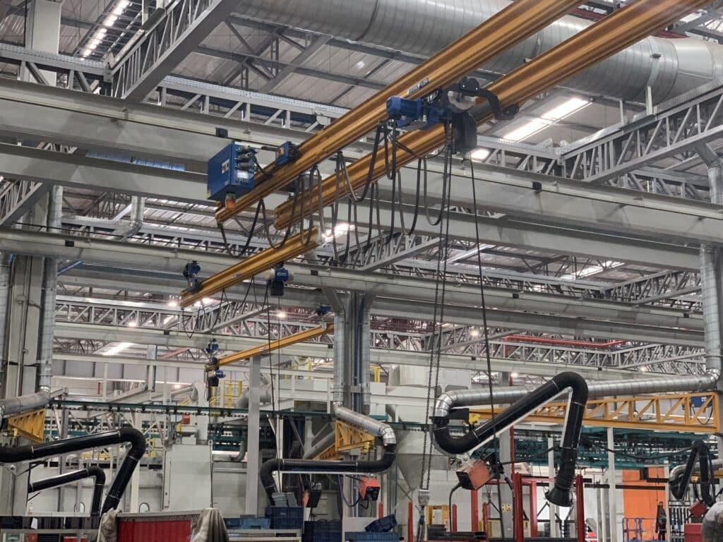 Projetos: sistema HB da marca ABUS na São José Industrial