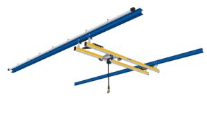 ilustração do modelo de ponte rolante de dupla viga ZHB-I