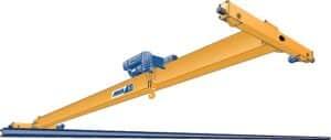 ilustração da ponte rolante ABUS modelo univiga, ELK