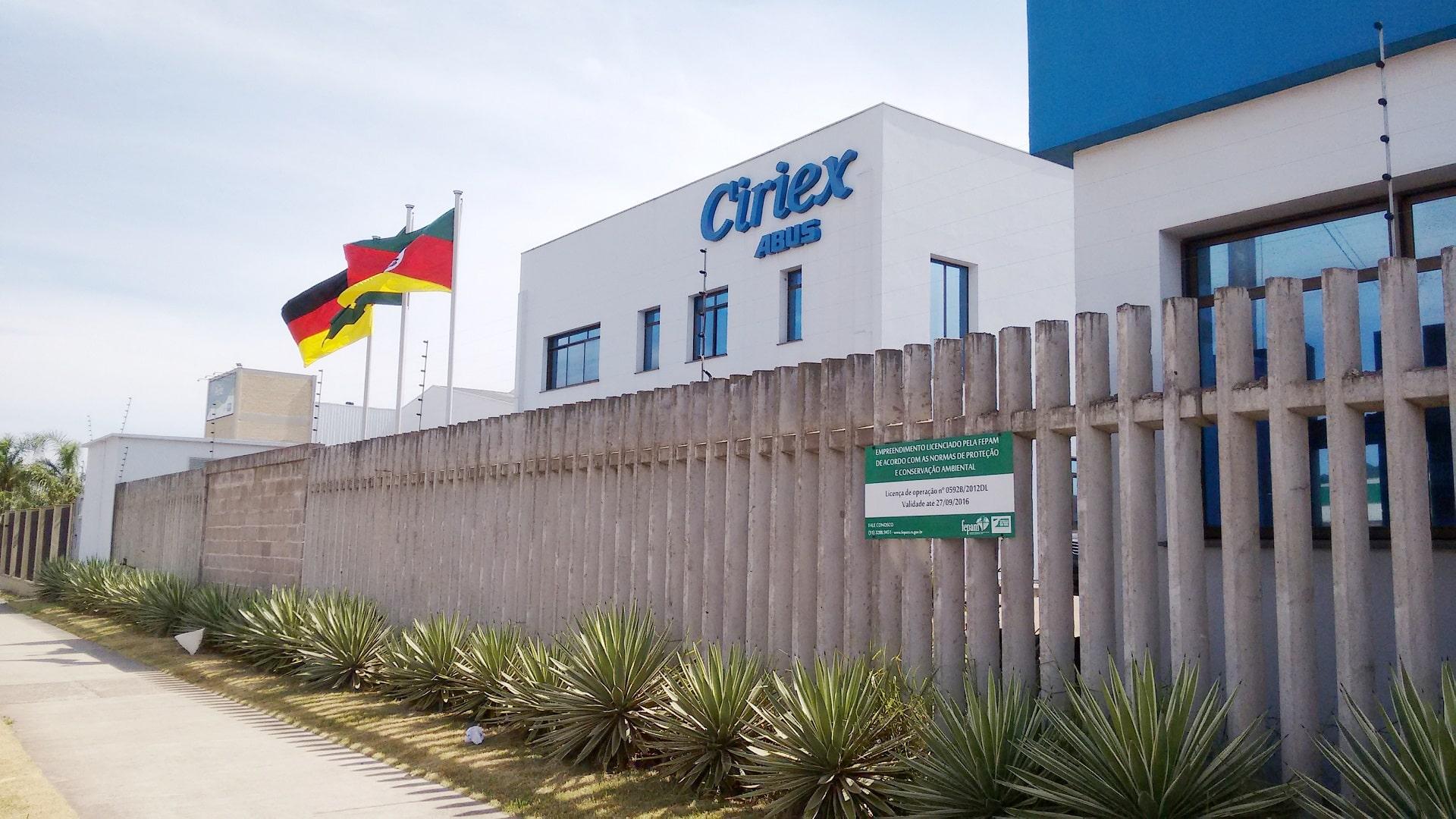 Contato da empresa Ciriex ABUS